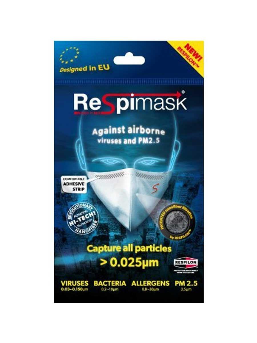 protivirová respirační maska